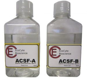 Buffer solution: Artificial cerebrospinal fluid ACSF
